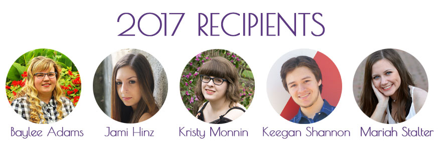 2017 Scholarship Recipients